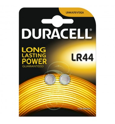 Duracell Buttoncell Battery LR44 303 357 AG13 LR1154, 2 Pack