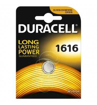Duracell Coincell Battey CR1616 3V, 1 Pack