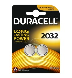 Duracell Coincell Battey CR2032 3V, 2 Pack