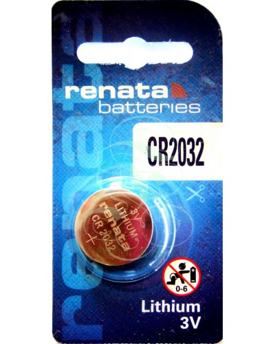 Renata Coincell Battey CR2032 3V, 1 Pack